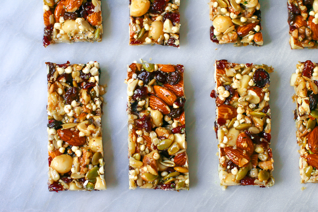 Homemade Fruit & Nut Bars