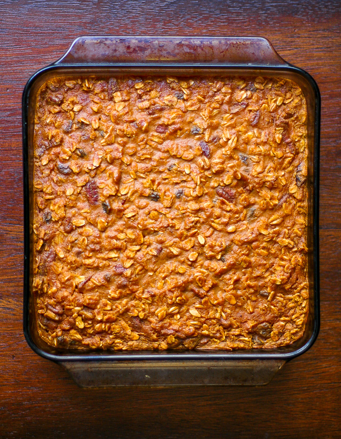 Pumpkin Spice Baked Oatmeal | ericajulson.com