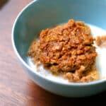 Pumpkin Spice Baked Oatmeal