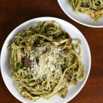Sunflower Seed Pesto Chicken Pasta