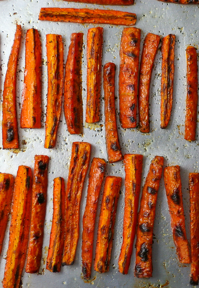 Miso Honey Glazed Carrots