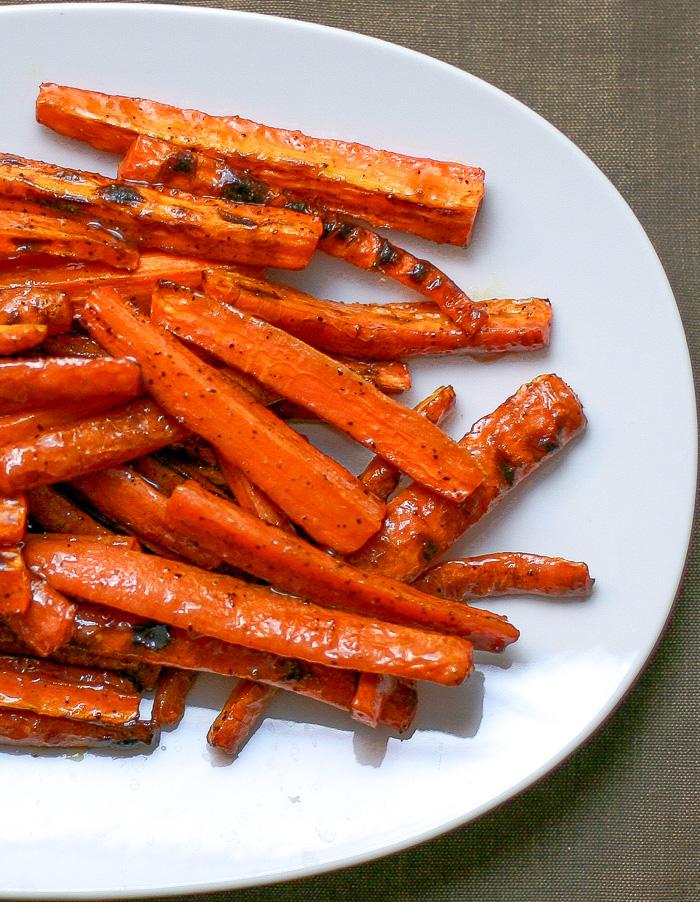 Miso Honey Glazed Carrots