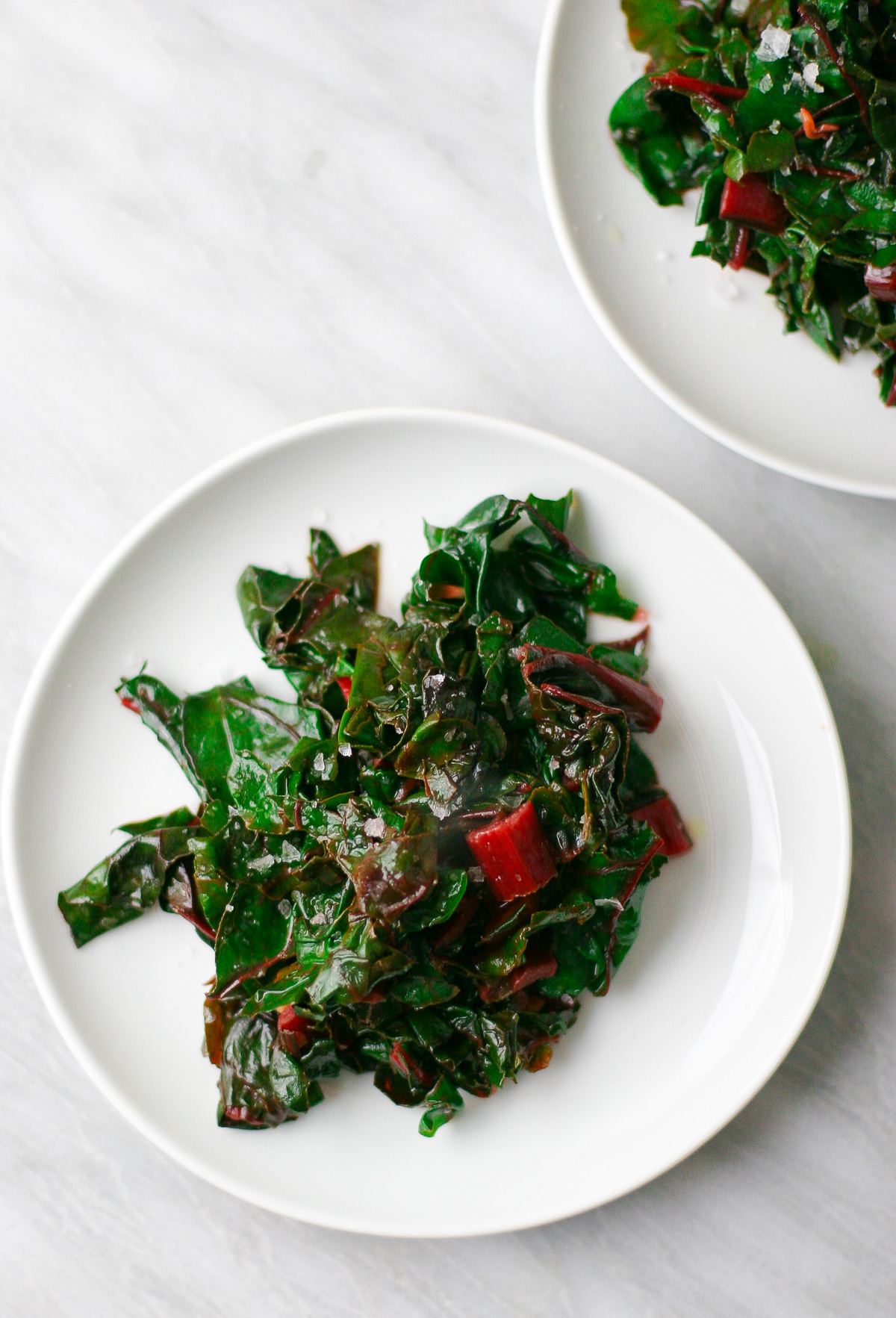 Sautéed Swiss Chard with Garlic and Lemon - Erica Julson