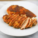 Spice Rubbed Baked Chicken Breasts