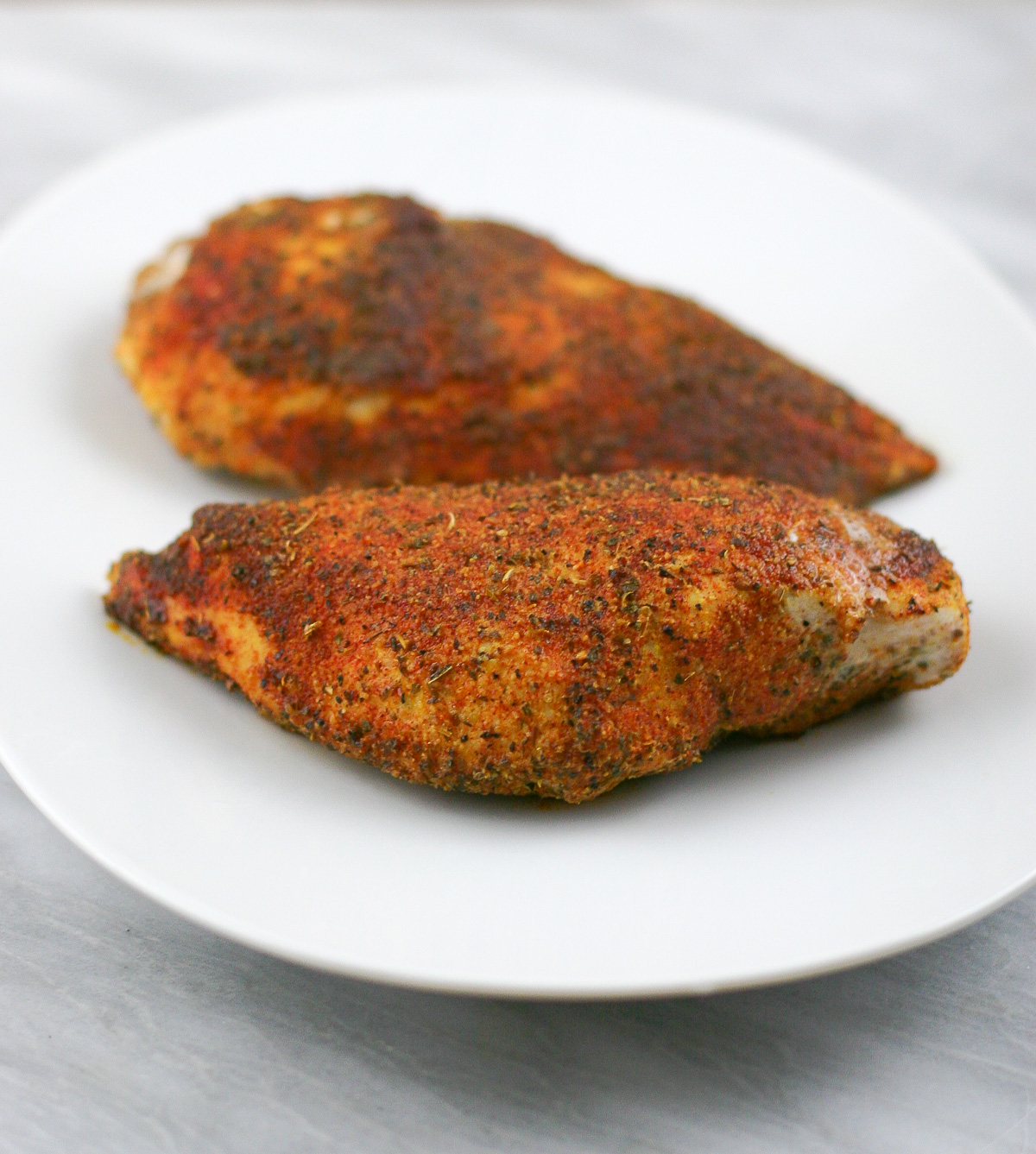 Spice Rubbed Baked Chicken