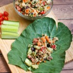 Quinoa Collard Green Wraps
