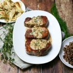 Seared Pork Chops with Mustard Pan Sauce