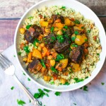 Beef and Apricot Tagine