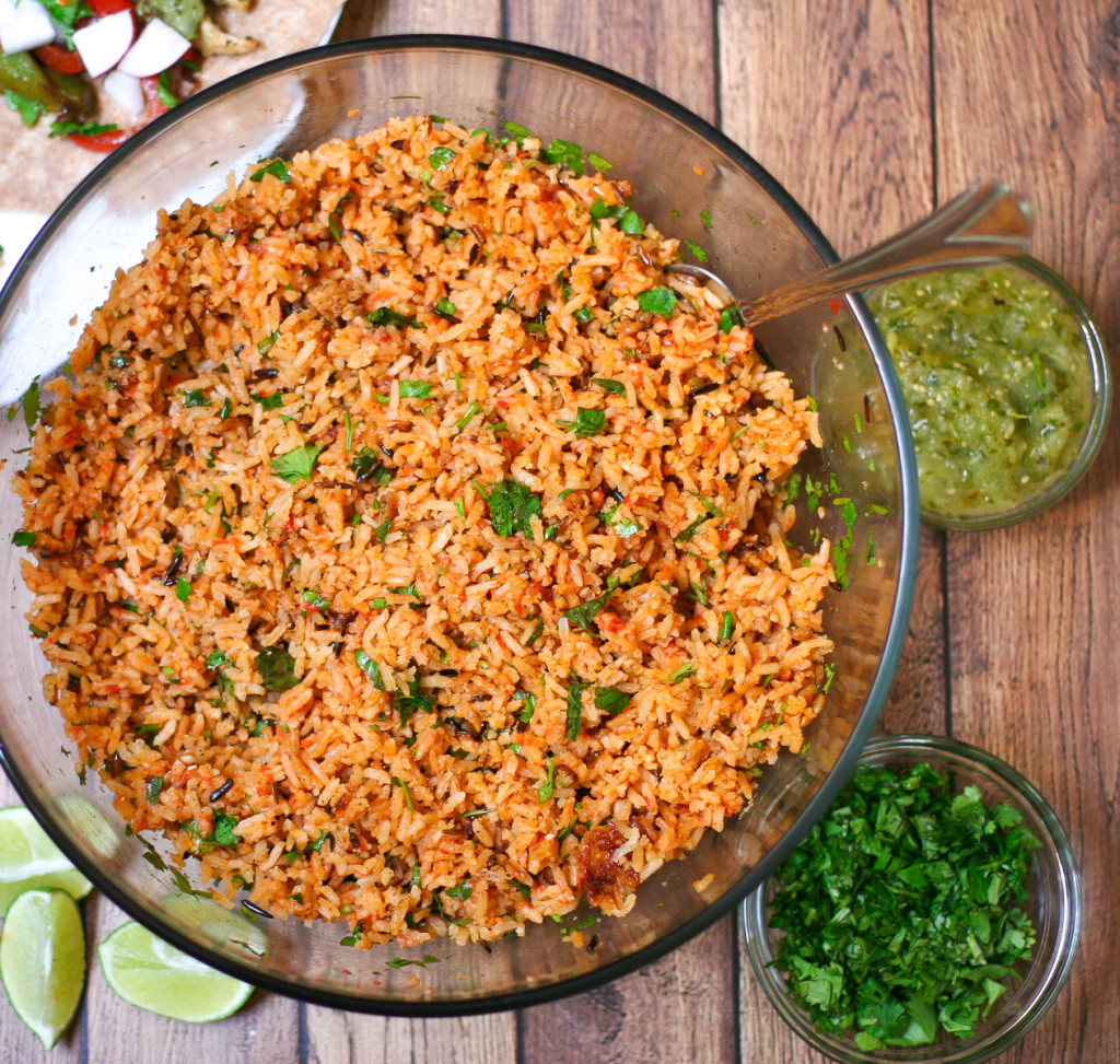 Restaurant Style Mexican Rice in the Rice Cooker