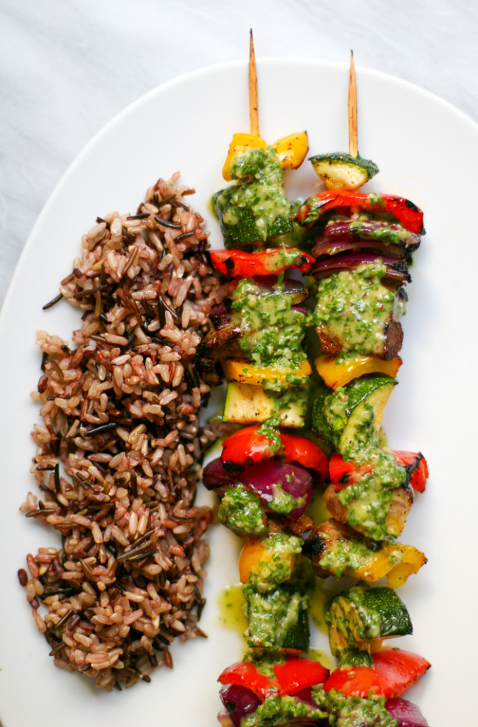 Steak & Veggie Skewers