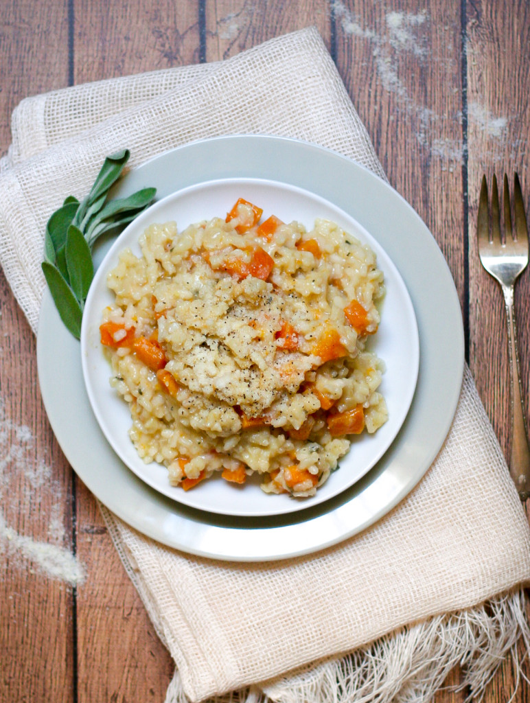 Butternut Squash and Sage Risotto-7