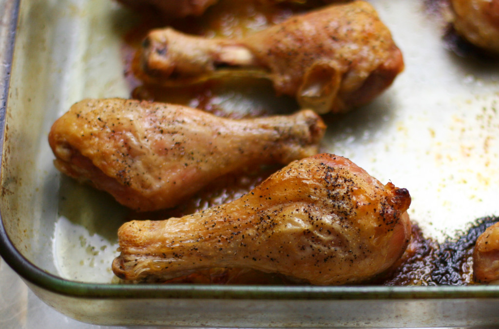 Oven Roasted Drumsticks with Extra Crispy Skin