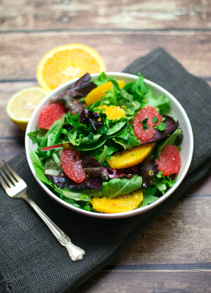 Vegan Winter Citrus Salad
