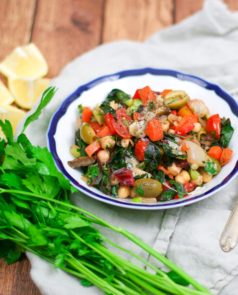Swiss Chard and Veggie Saute