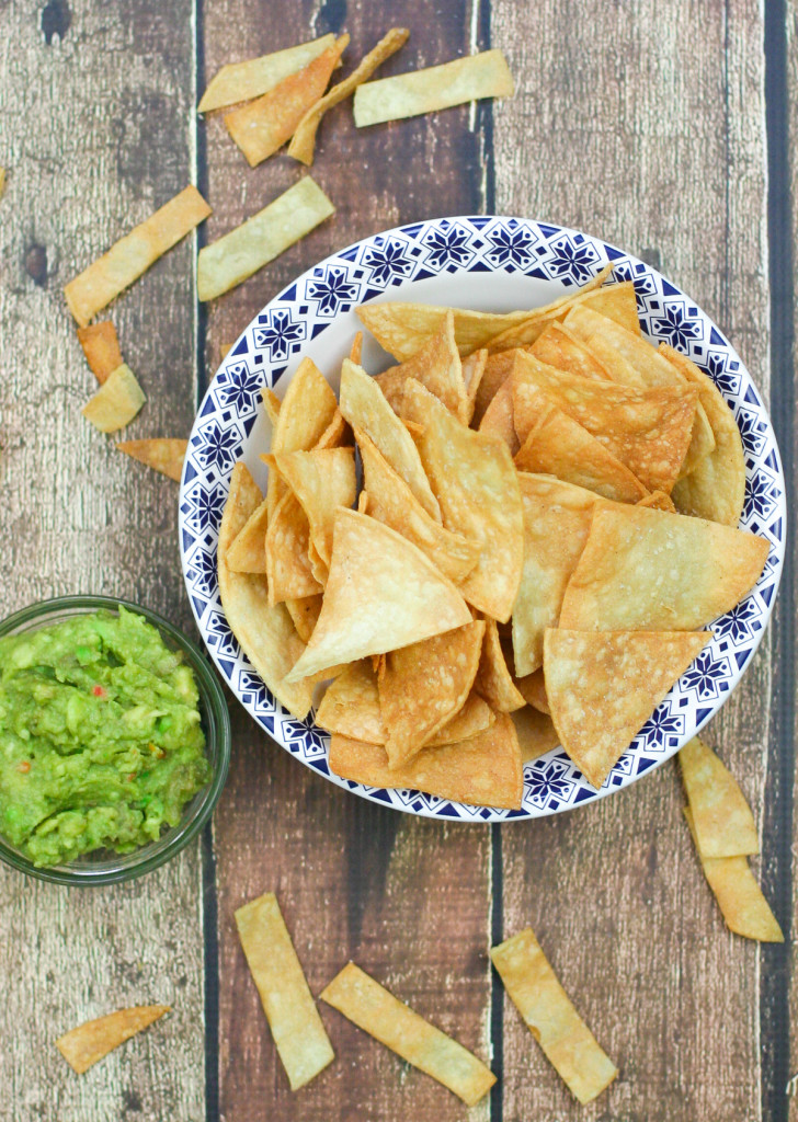 Homemade Tortilla Chips or Strips