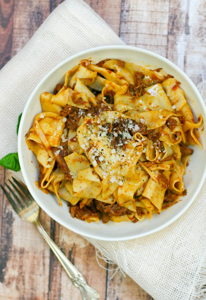 Pappardelle with Pork Ragu - Perfect for a Party!