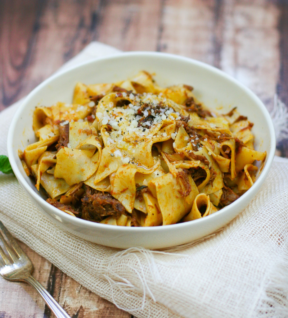 Pappardelle with Pork Ragu