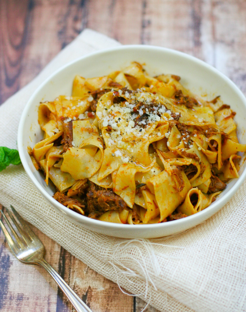 Pappardelle with Slow Cooked Pork Ragu