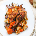 Moroccan Roasted Chicken and Vegetables-6