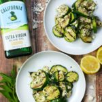 Grilled Zucchini with Mint, Lemon, and Feta