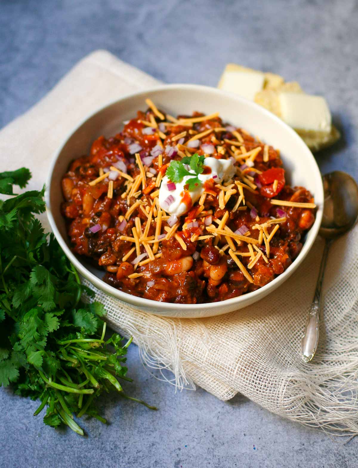 Three Bean Turkey Chili - Erica Julson
