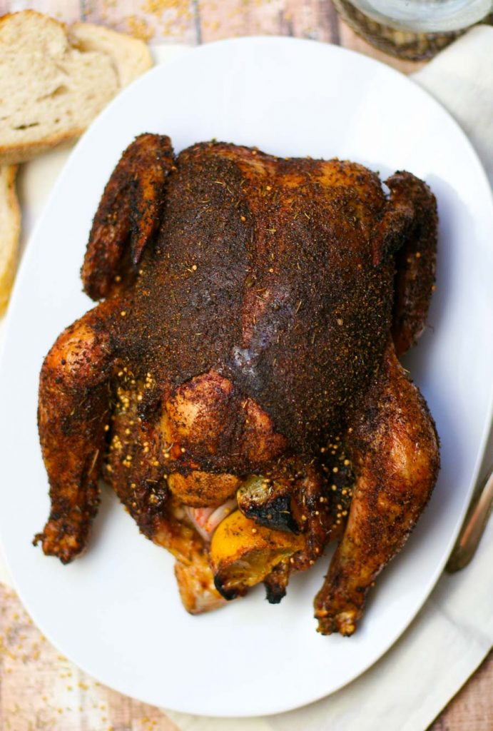 Spice Rub Roasted Chicken