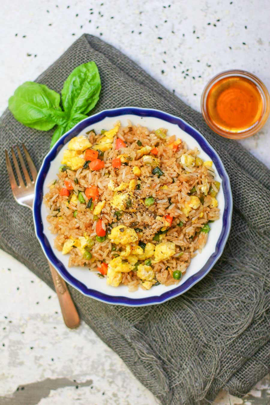 Easy Egg Fried Rice Erica Julson