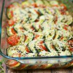 Tomato, Zucchini, and Squash Gratin